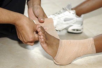 ankle sprains treatment in the Bellaire, TX 77401 area