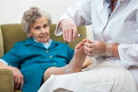 Elderly People May Notice Foot Structure Change